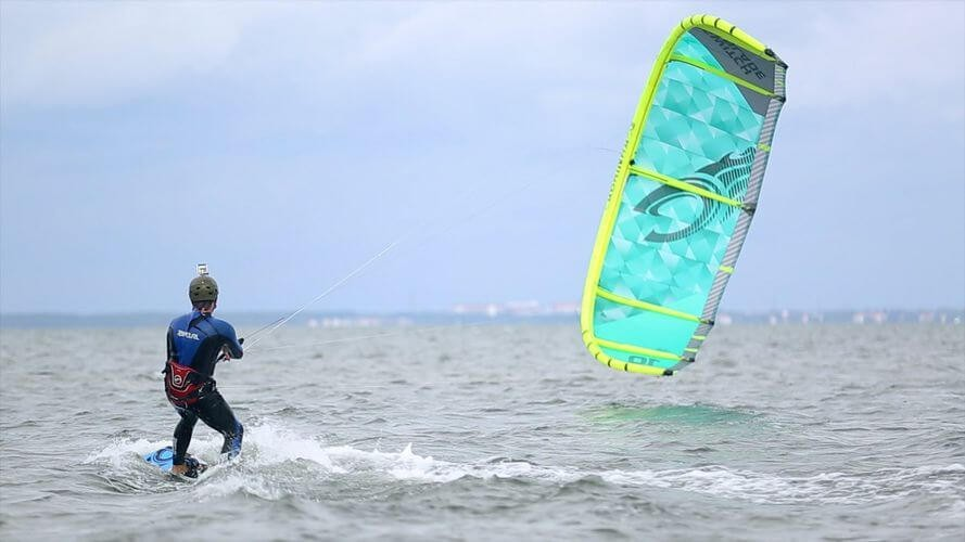 Kite Surfing at Hagapark (Öland)