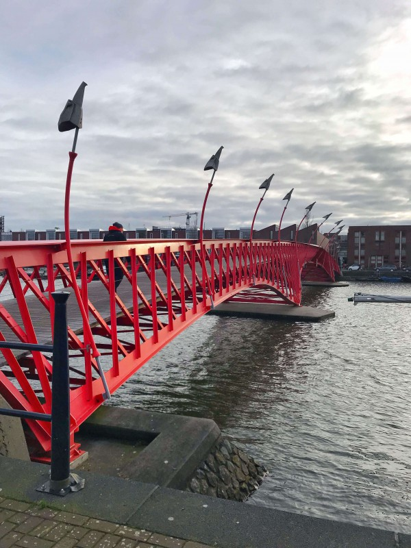 Python Bridge in Eastern Docks