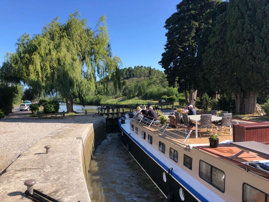 Canal du Midi lock