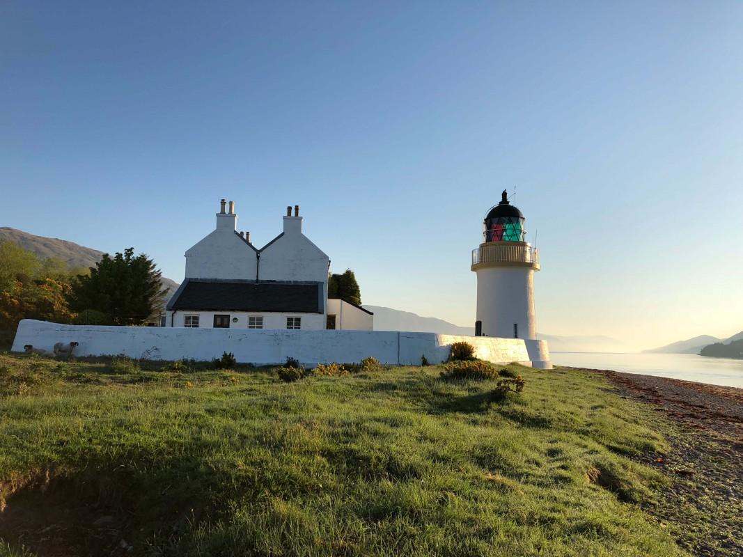 Corran Point Lighthouse and Lodge