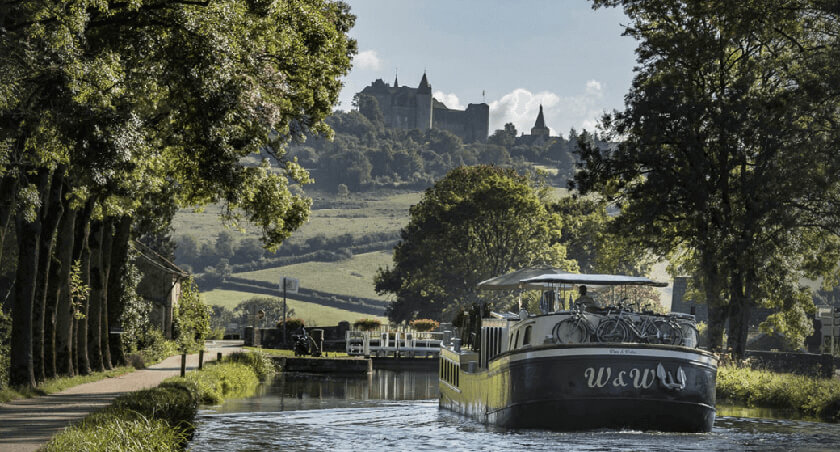 Northern Burgundy barge cruise
