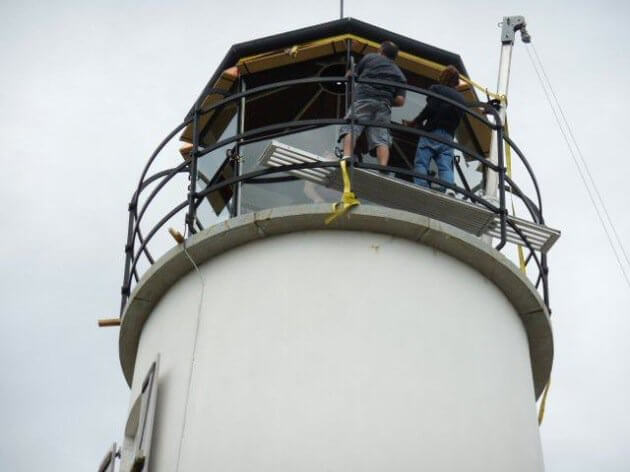 St. George Lighthouse Florida Renovatie