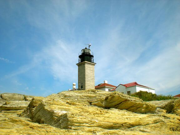 Fondation du phare de Beavertail