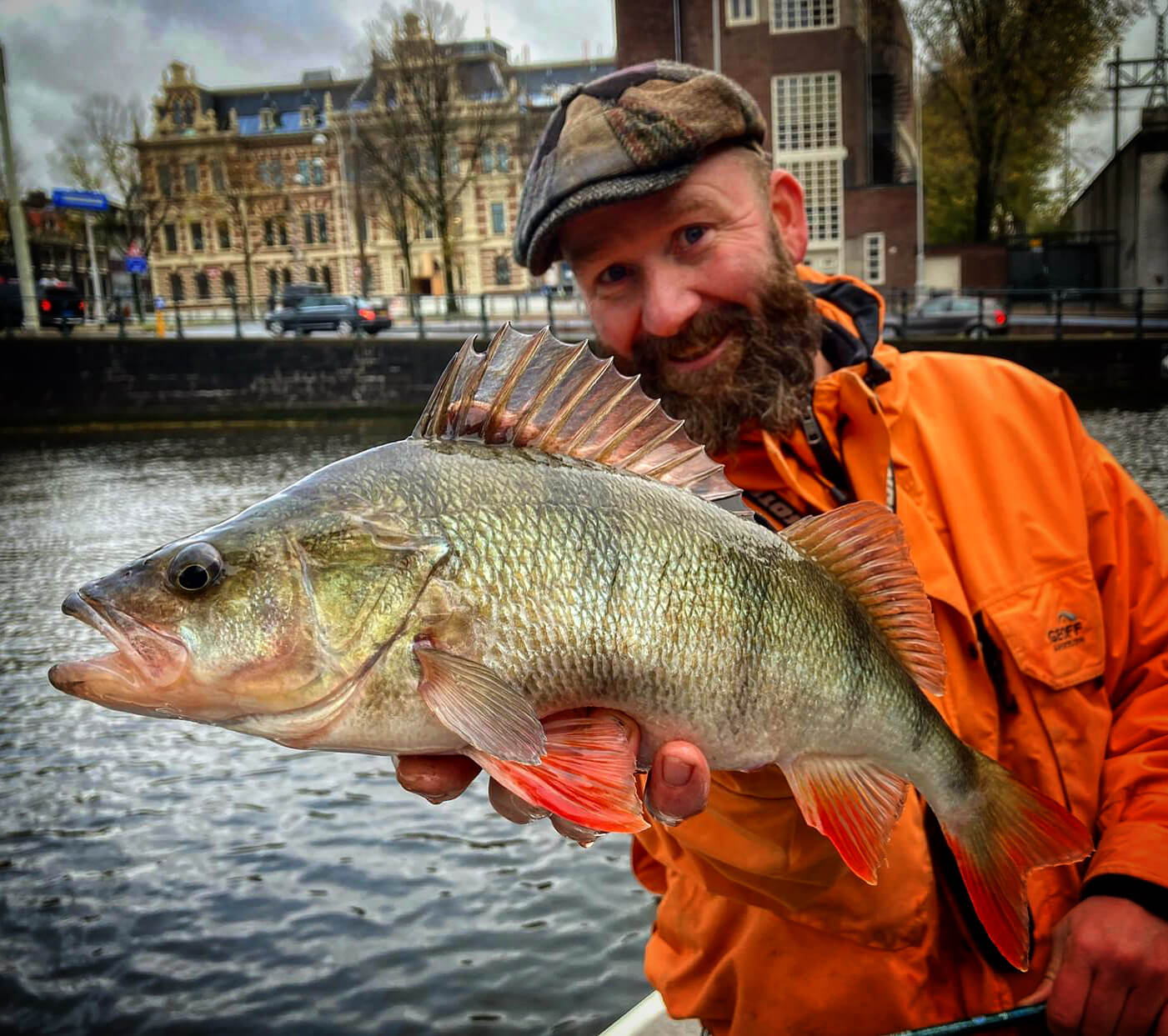 Amsterdam Fishing Guide Michael Stalenhoef